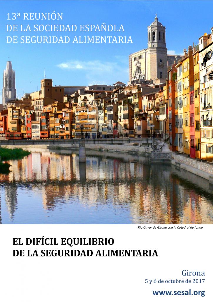 Portada 13 Reunión Anual de la Sociedad Española de Seguridad Alimentaria_2017
