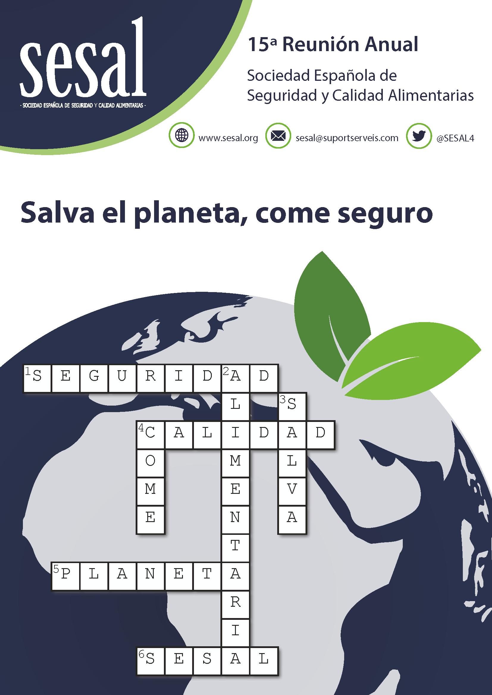 Portada 15 Reunión Anual de la Sociedad Española de Seguridad Alimentaria_2019