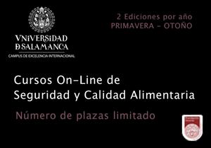 Cursos OnLine de Seguridad y Calidad Alimentaria. Fundación General Universidad de Salamanca