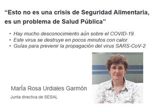 """""""Esto no es una crisis de Seguridad Alimentaria, es un problema de Salud Pública"""""""